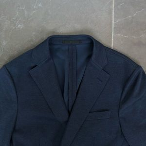 Uniqlo Men's Dry-EX Blazer Navy Blue